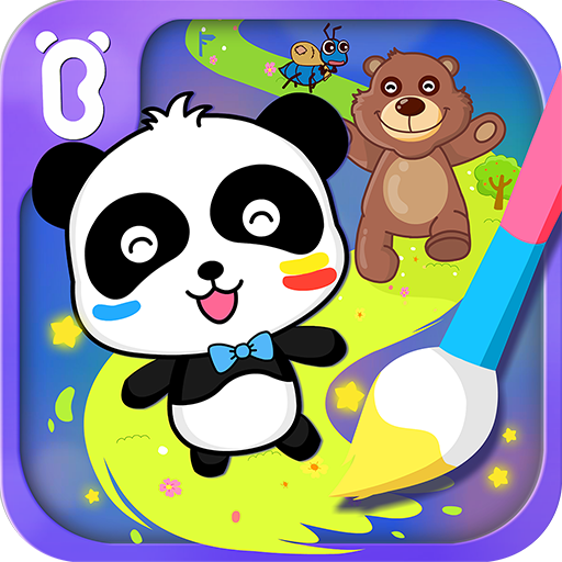Baby Panda's Magic Lines (game)