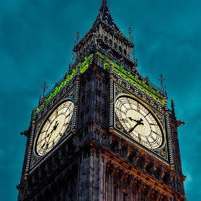 big ben -details by Balan Gratian - City,  Street & Park  Historic Districts ( clock details, clock, big ben details, london big ben, big ben clock )