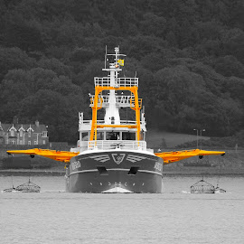 by Martin McCaul - Transportation Boats
