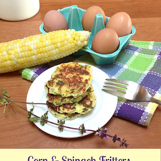 Corn & Spinach Fritters