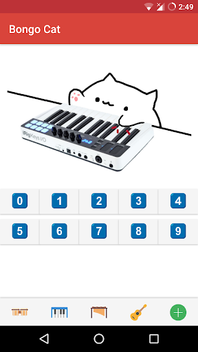 Bongo Cat - Musical Instruments For PC