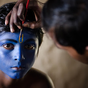 Blue by Fotosutra - a PRASANTA SINGHA photography - People Portraits of Men (  )