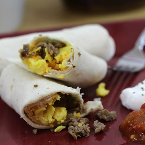 Sausage,  Egg, and Cheese Breakfast Burrito