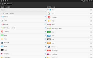 Screenshot of TVGuiden