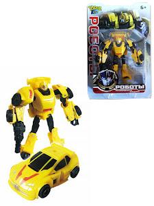 Робот трансформируется в боевую машинку M