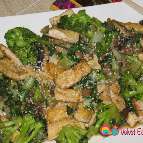 Bok Choy Broccoli and Tofu Stir Fry