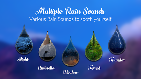 Rain Sound ~ Relax Rainy Sleep - screenshot