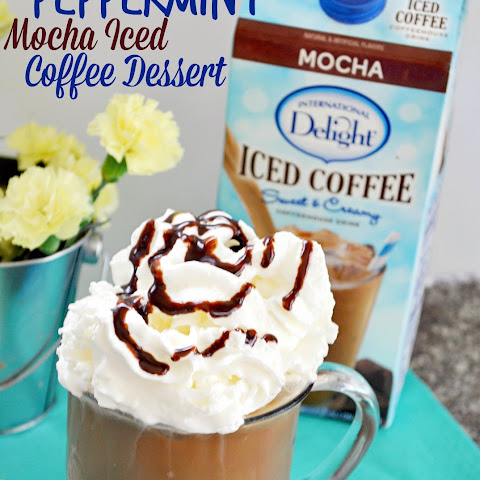 Peppermint Mocha Iced Coffee