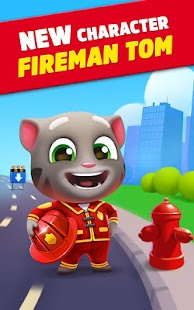 Talking Tom Gold Run apk screenshot