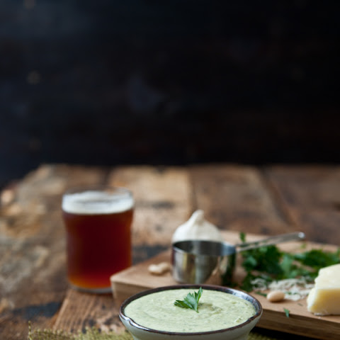 Creamy White Bean Beer Cheese Dip