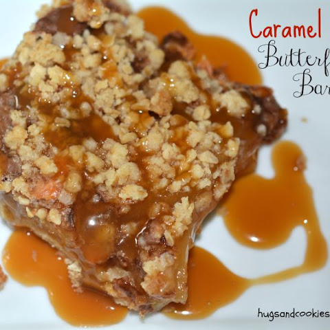Caramel Apple Butterfinger Bars