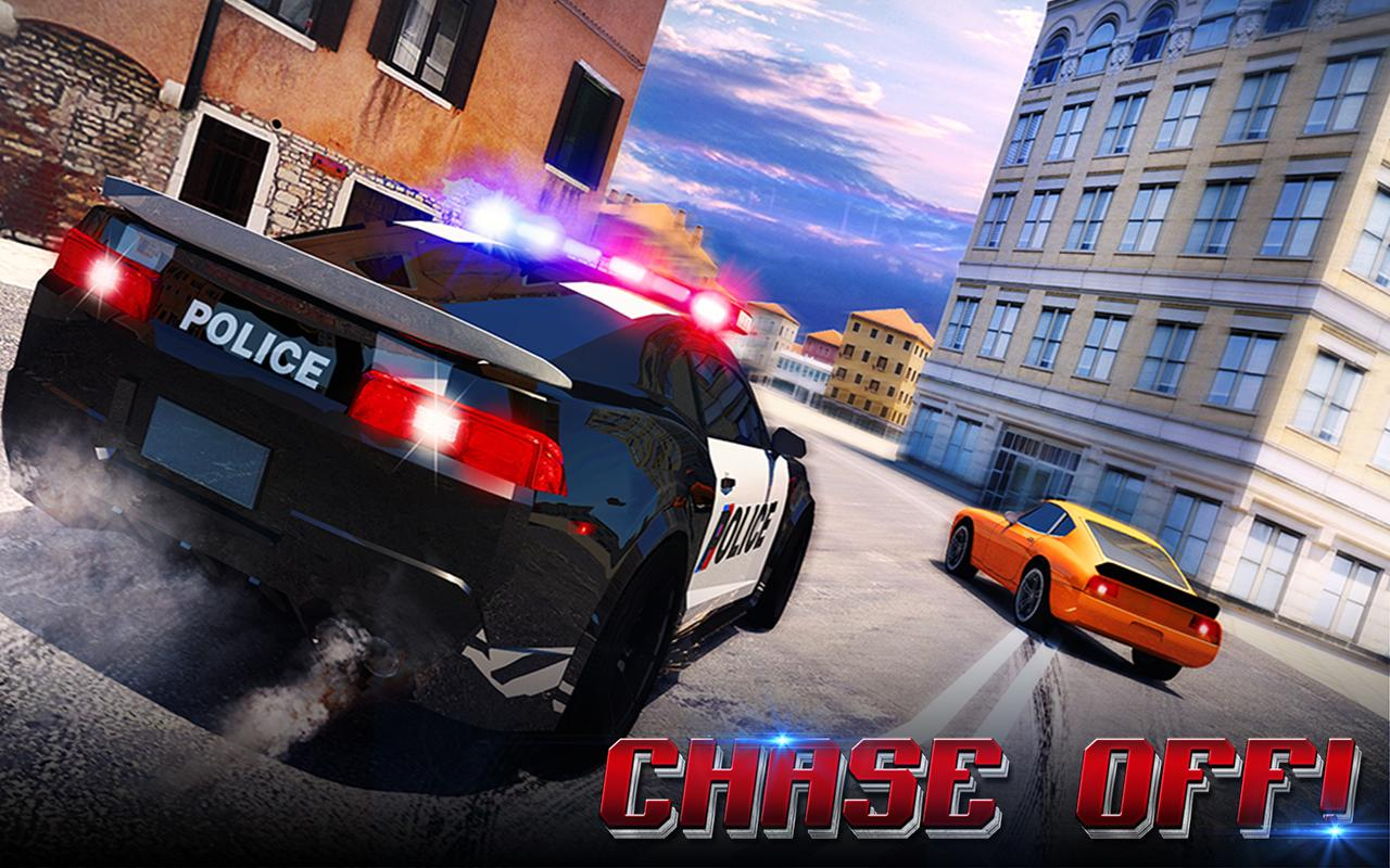 Police Chase Adventure sim 3D Screenshot 5