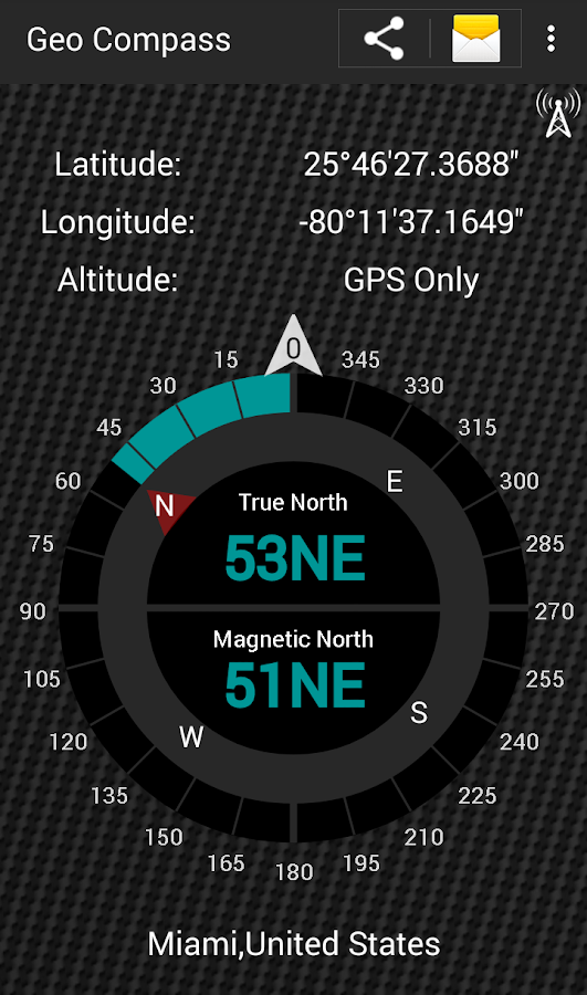 Geo Compass Pro Screenshot 0