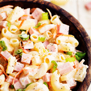 Pineapple Macaroni Salad Recipes