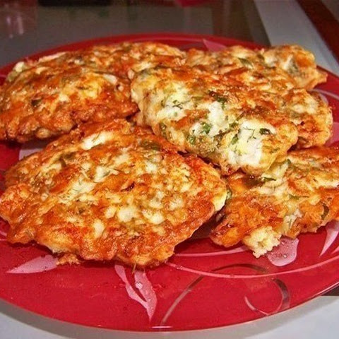 Weight Loss, Fitness. Chicken fritters with cheese kefir