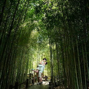 Lift Me Higher Than These Trees by Yansen Setiawan - Wedding Old - Engagement ( bamboo, cali, silhouette, losangeles, award, sweetheart, blog, romance, city, love, prewedding, d800, lifestyle, photographer, siluet, nikon, fine, mindblowing, classic, editorial, creative, vintage, art, romantic, lovebirds, illusion, destination, winning, fineart, yansensetiawanphotography, wedding, la, yansensetiawan, bambooforest, yansen, engagement, unseen )