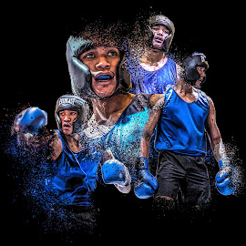 Champ by Reza Roedjito - Digital Art People ( dispersion effect, boxing, photoshop )