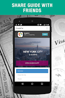 Screenshot of Guidepal Offline City Guides