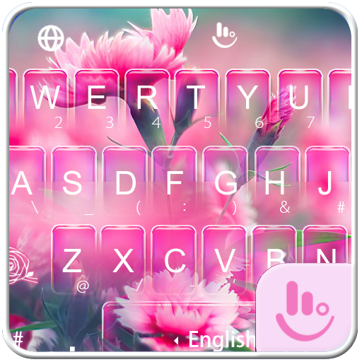 Mother's Day Flower Keyboard