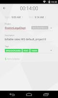 Screenshot of Toggl Time Tracker