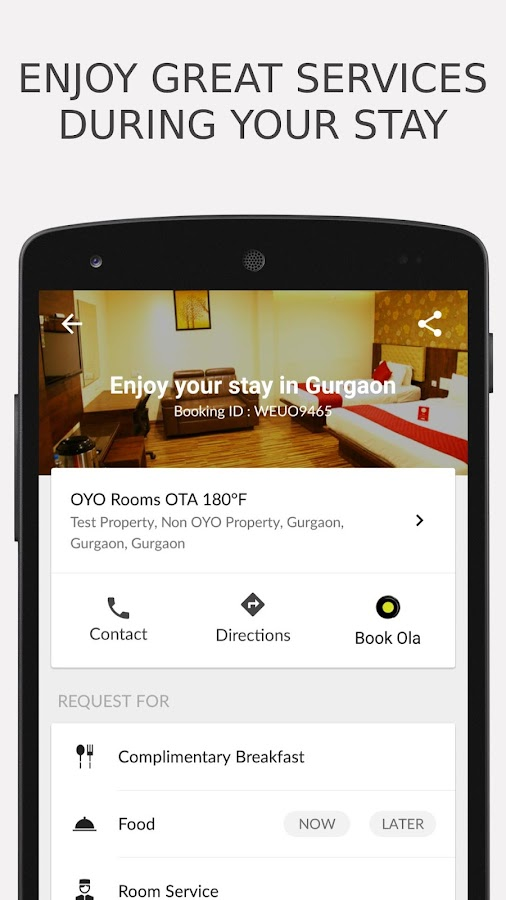 OYO - Online Hotel Booking App Screenshot 4