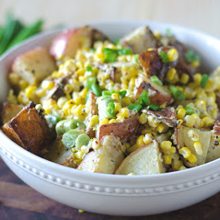 Grilled Honey Mustard Lime Potato Salad