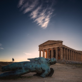 Concordia Temple by Krasimir Lazarov - Buildings & Architecture Public & Historical ( temple, agrigento, building, ancient, valley of the temples, historic district, historical, architecture, italy, historic, sicily )