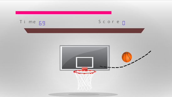 Ball In Hoops Basketball - screenshot