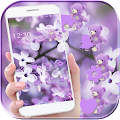 APK App Lavender Teddy Bear Theme for BB, BlackBerry