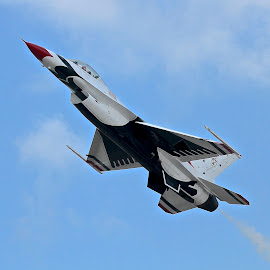 Thunderbirds Lead Solo! by Jim Baker - Transportation Airplanes