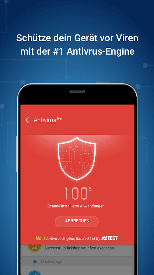 Clean Master (Boost Antivirus) – Screenshot