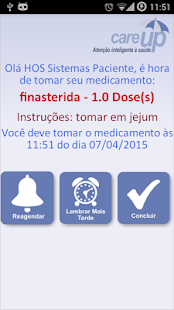 CareUp - A hora do remédio - screenshot
