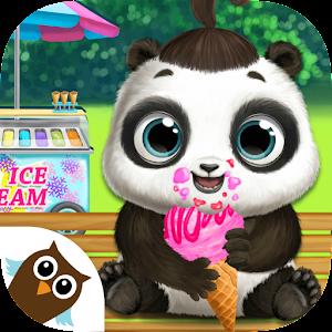 panda lu baby bear city pet babysitting care free android app