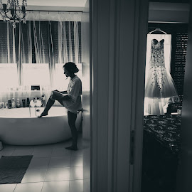 by Daniel Anghelache - Wedding Bride ( preparation, bride, photography )