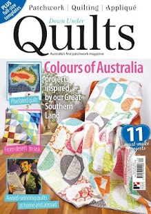 Down Under Quilts Magazine - screenshot
