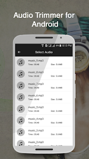 Music Trimmer for Android - screenshot