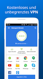 Hotspot Shield VPN Free Proxy Screenshot