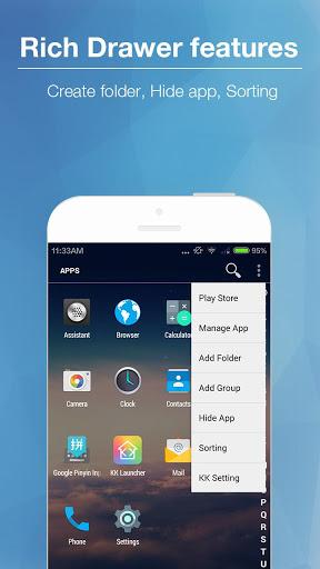 KK Launcher (Lollipop launcher Screenshot