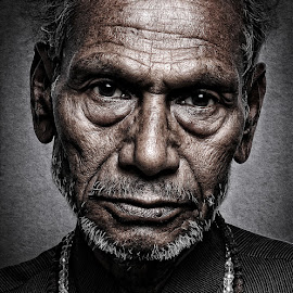 Best is yet to come... by Vinay Kumar Vishwakarma - People Portraits of Men ( fine art, senior citizen, portrait )