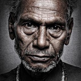 Best is yet to come... by Vinay Kumar Vishwakarma - People Portraits of Men ( fine art, senior citizen, portrait )