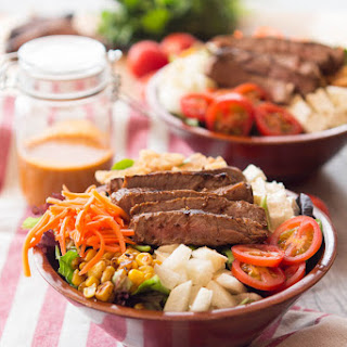 Southwestern Steak Salad & Chipotle Vinaigrette