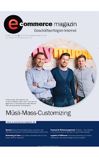 e-commerce magazin - epaper - screenshot