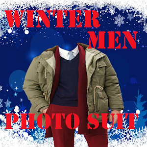 Download Winter Men Photo Suit For PC Windows and Mac