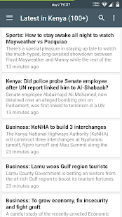 Kenya Latest News - screenshot