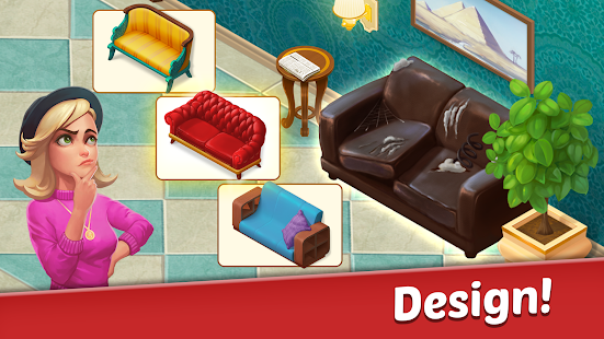 Family Hotel: Renovation & design match-3 game