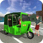 Snow City Tuk Tuk Driving 2017 For PC / Windows / MAC