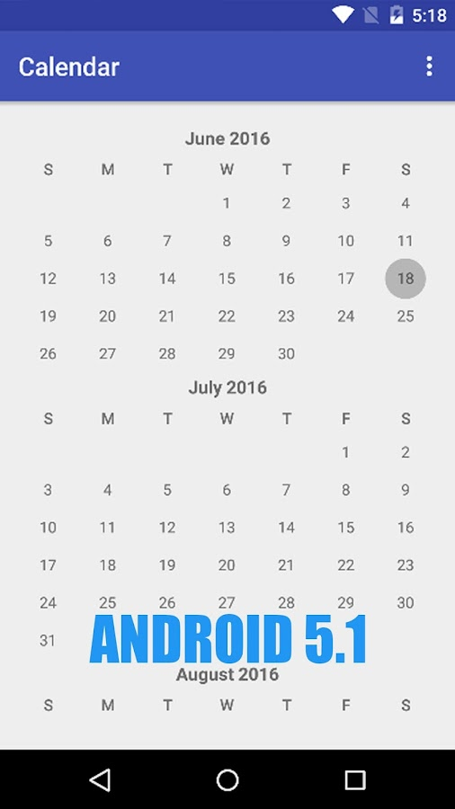 Simple Calendar Pro Screenshot 2