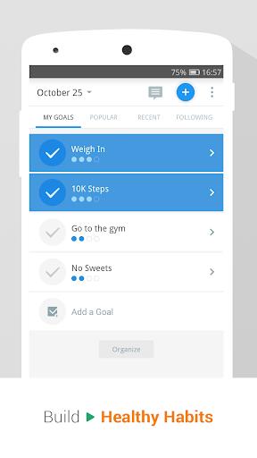 Pedometer, Step Counter & Weight Loss Tracker App screenshot 6