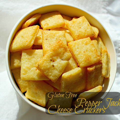 Gluten Free Pepper Jack Cheese Crackers