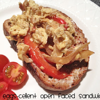 Eggs-cellent Open Faced Sandwiches